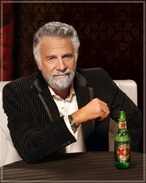 Dos Equis' Most Interesting Man in the World. (Image source)