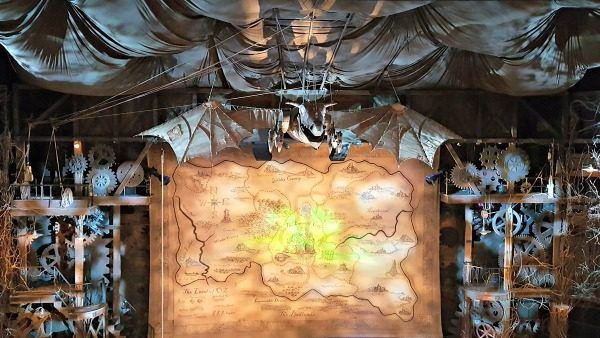 Set of Wicked at The Gershwin Theatre, New York